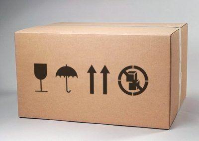 Estarcido caja