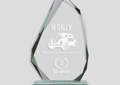 trofeo cristal rally